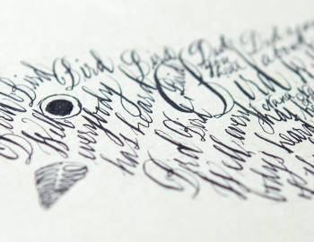 Beginning Calligraphy: Putting it all Together