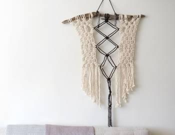 Make a Macramé Wall Hanging
