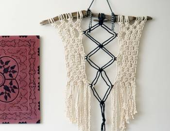 Make a Macrame Wall Hanging