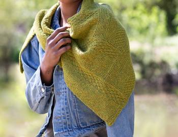 Knit a Log Cabin Shawl