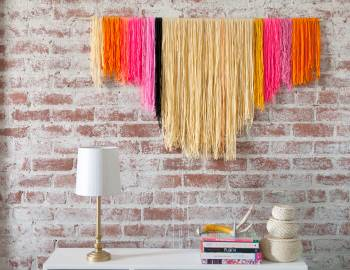 DIY Yarn Banners
