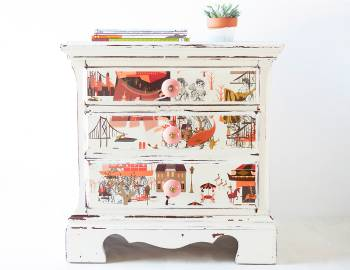 Furniture Refinishing: Paper and Decoupage