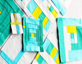Improvisational Patchwork for Beginners