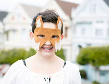 DIY Fox Mask