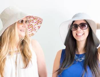 Sew a Reversible Sun Hat