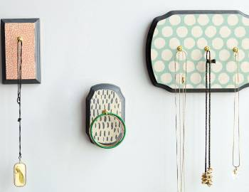 DIY Room Decor: Decoupaged Jewelry Holder