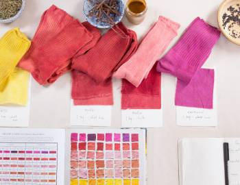 Natural Dyeing: How to Dye Cotton and Other Cellulose Fibers