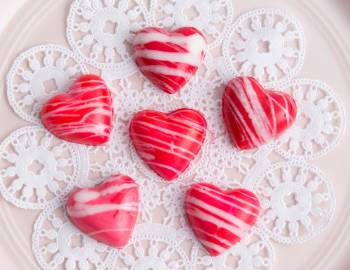 Make Valentine's Day Painted Chocolates