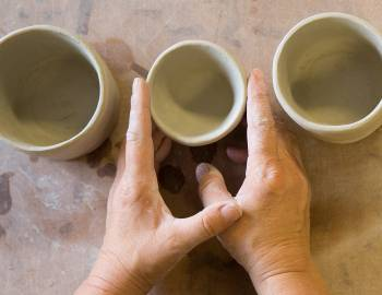 Hand-Built Ceramics: Pinch Pot, Slab, and Coil Forms