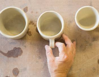 Hand-Built Ceramics: Creating and Attaching Handles