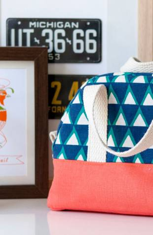 Learn how to sew a travel kit sewing pattern class