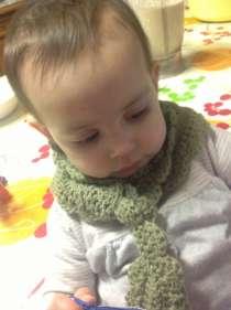 Bibi first scarf