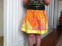 Another lazy days skirt for Margot