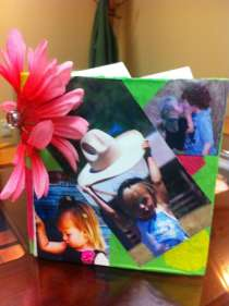 Front of my little book