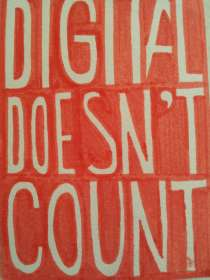 Digital doesn't count - atc