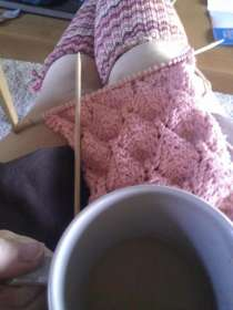 Knitting Break
