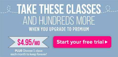 Subscribe & Take Hundreds of Classes For $4.95/month