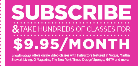 Subscribe & Take Hundreds of Classes For $9.95/month