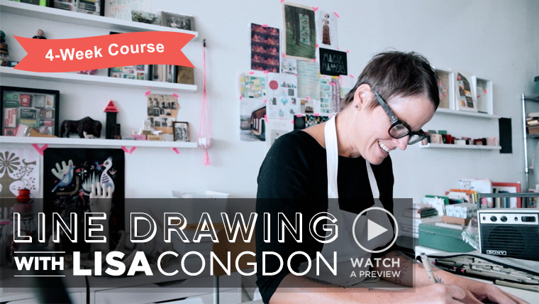 Line Drawing with Lisa Congdon